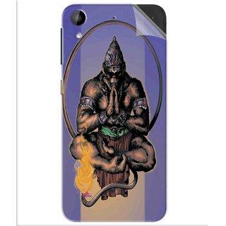 Snooky Printed Lord Hanuman Ji bhagvan bala ji maharaj Pvc Vinyl Mobile Skin Sticker For Htc Desire 630