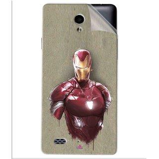 Snooky Printed Iron Man movie Pvc Vinyl Mobile Skin Sticker For Oppo Joy 3