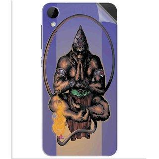 Snooky Printed Lord Hanuman Ji bhagvan bala ji maharaj Pvc Vinyl Mobile Skin Sticker For Htc Desire 825