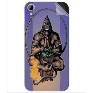 Snooky Printed Lord Hanuman Ji bhagvan bala ji maharaj Pvc Vinyl Mobile Skin Sticker For Htc Desire 830