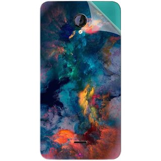 Snooky Printed iphone background Pvc Vinyl Mobile Skin Sticker For Micromax Canvas Unite 2