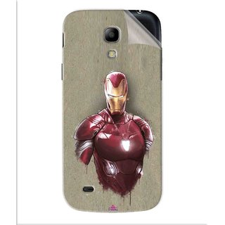 Snooky Printed Iron Man movie Pvc Vinyl Mobile Skin Sticker For Samsung Galaxy S4