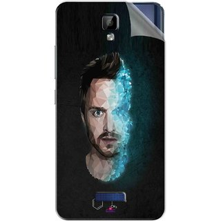 Snooky Printed jesse pinkman Breaking Bad Pvc Vinyl Mobile Skin Sticker For Gionee P7 Max