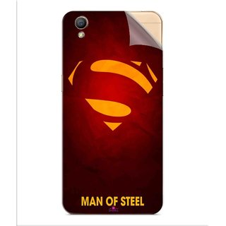 Snooky Printed Man Of Steel Supper Man Pvc Vinyl Mobile Skin Sticker For Oppo A37