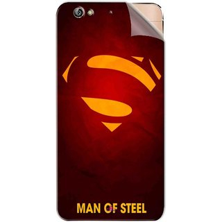 Snooky Printed Man Of Steel Supper Man Pvc Vinyl Mobile Skin Sticker For Gionee Elife S6
