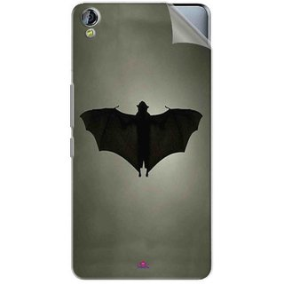 Snooky Printed Bat Pvc Vinyl Mobile Skin Sticker For Micromax Canvas Juice 3+ Q394