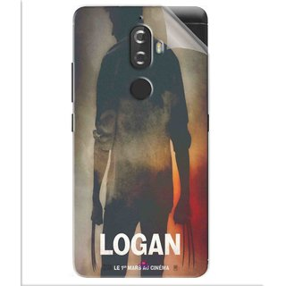Snooky Printed Logan Pvc Vinyl Mobile Skin Sticker For Lenovo K8