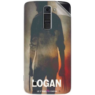 Snooky Printed Logan Pvc Vinyl Mobile Skin Sticker For LG K7