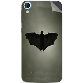 Snooky Printed Bat Pvc Vinyl Mobile Skin Sticker For HTC Desire 820