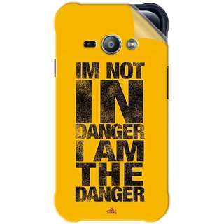 Snooky Printed breaking bad i am the danger Pvc Vinyl Mobile Skin Sticker For Samsung Galaxy Ace J1