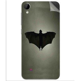 Snooky Printed Bat Pvc Vinyl Mobile Skin Sticker For Htc Desire 825