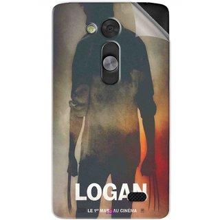 Snooky Printed Logan Pvc Vinyl Mobile Skin Sticker For LG L Fino