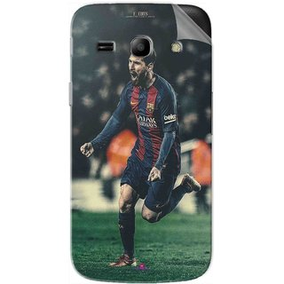 Snooky Printed lionel messi f edits Pvc Vinyl Mobile Skin Sticker For Samsung Galaxy Star Advance