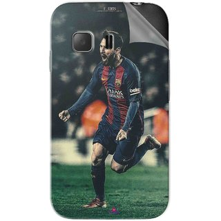 Snooky Printed lionel messi f edits Pvc Vinyl Mobile Skin Sticker For Samsung Galaxy Young 2