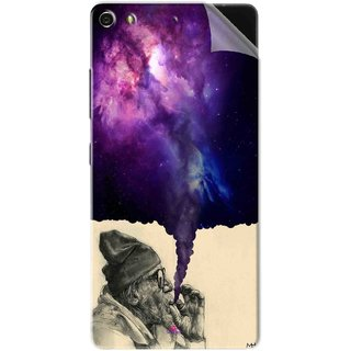 Snooky Printed old man smoking weed Pvc Vinyl Mobile Skin Sticker For Gionee Elife S7
