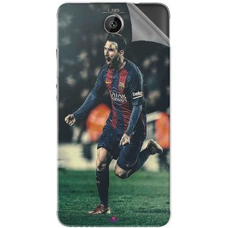 Snooky Printed lionel messi f edits Pvc Vinyl Mobile Skin Sticker For Intex Aqua Freedom