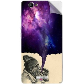 Snooky Printed old man smoking weed Pvc Vinyl Mobile Skin Sticker For Gionee M2