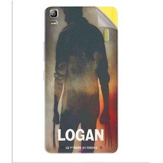 Snooky Printed Logan Pvc Vinyl Mobile Skin Sticker For Lenovo K3 Note