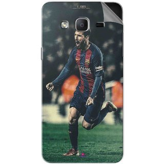 Snooky Printed lionel messi f edits Pvc Vinyl Mobile Skin Sticker For Samsung Galaxy On7 Pro