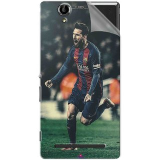 Snooky Printed lionel messi f edits Pvc Vinyl Mobile Skin Sticker For Sony Xperia T2 Ultra