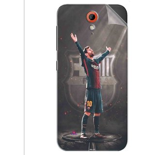 Snooky Printed Lionel Messi Fondos de pantalla Pvc Vinyl Mobile Skin Sticker For Htc Desire 620