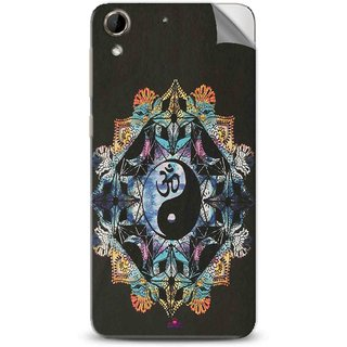 Snooky Printed Om Lord religious Pvc Vinyl Mobile Skin Sticker For Htc Desire 728