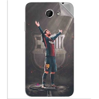 Snooky Printed Lionel Messi Fondos de pantalla Pvc Vinyl Mobile Skin Sticker For Htc Desire 516
