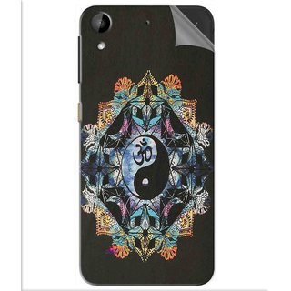 Snooky Printed Om Lord religious Pvc Vinyl Mobile Skin Sticker For Htc Desire 630