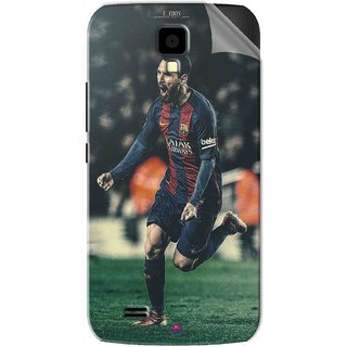 Snooky Printed lionel messi f edits Pvc Vinyl Mobile Skin Sticker For Gionee Pioneer P2S