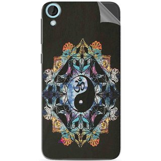 Snooky Printed Om Lord religious Pvc Vinyl Mobile Skin Sticker For HTC Desire 820