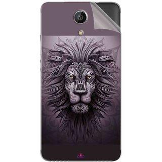 Snooky Printed lion zion Pvc Vinyl Mobile Skin Sticker For Intex Aqua Freedom
