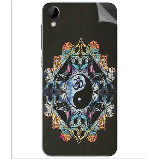 Snooky Printed Om Lord religious Pvc Vinyl Mobile Skin Sticker For Htc Desire 825