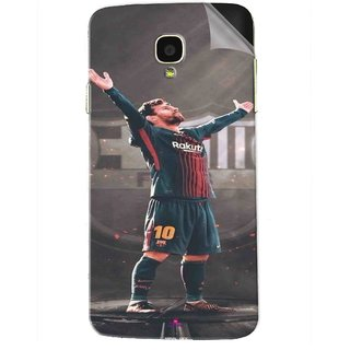 Snooky Printed Lionel Messi Fondos de pantalla Pvc Vinyl Mobile Skin Sticker For Micromax Bolt Q325