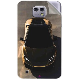 Snooky Printed Lombarghni Pvc Vinyl Mobile Skin Sticker For LG X cam
