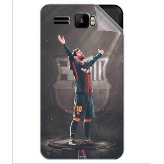 Snooky Printed Lionel Messi Fondos de pantalla Pvc Vinyl Mobile Skin Sticker For Intex Aqua R3
