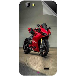 Snooky Printed panigale 1199 Motor cycle bike Pvc Vinyl Mobile Skin Sticker For LYF Wind 5