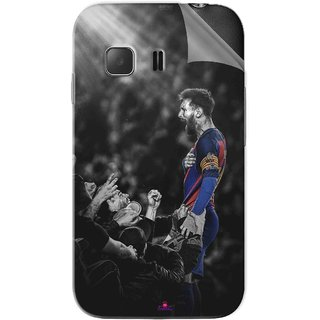 Snooky Printed lionel messi wallpaper 2017 Pvc Vinyl Mobile Skin Sticker For Samsung Galaxy Young 2