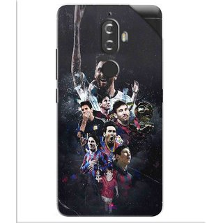 Snooky Printed lionel messi wallpaper Pvc Vinyl Mobile Skin Sticker For Lenovo K8 Plus