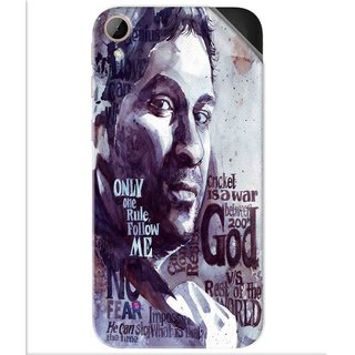 Snooky Printed sachin Tendulkar A tribute Pvc Vinyl Mobile Skin Sticker For Htc Desire 830