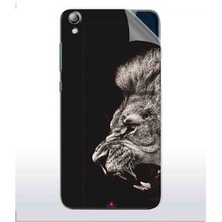 Snooky Printed Roaring lion Pvc Vinyl Mobile Skin Sticker For Lenovo S850