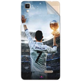 Snooky Printed Ronaldo Pvc Vinyl Mobile Skin Sticker For Oppo R7
