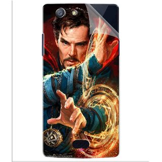 Snooky Printed Doctor strange Pvc Vinyl Mobile Skin Sticker For Oppo Neo 5