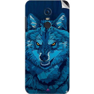 Snooky Printed southside festival wolf Pvc Vinyl Mobile Skin Sticker For Xiaomi Redmi Note 5