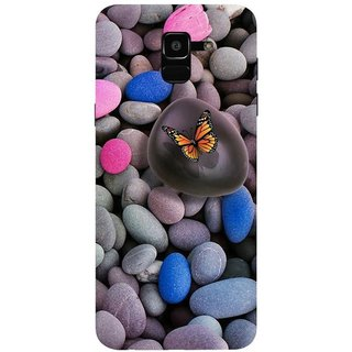 reputable site 83752 a68a7 Buy Back Cover For Samsung Galaxy J6 (Multicolor, Dual Protection ...
