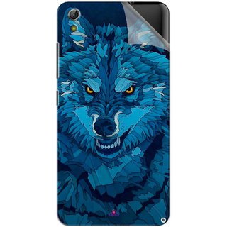 Snooky Printed southside festival wolf Pvc Vinyl Mobile Skin Sticker For Gionee Pioneer P5W