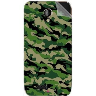 Snooky Printed Military Camouflage Pattern Pvc Vinyl Mobile Skin Sticker For LYF Flame 6
