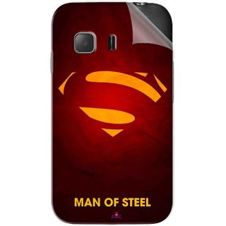 Snooky Printed Man Of Steel Supper Man Pvc Vinyl Mobile Skin Sticker For Samsung Galaxy Young 2