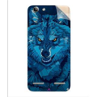 Snooky Printed southside festival wolf Pvc Vinyl Mobile Skin Sticker For Lenovo Vibe K5 Plus