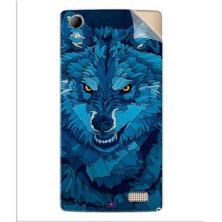 Snooky Printed southside festival wolf Pvc Vinyl Mobile Skin Sticker For Intex Aqua Y2 Ultra