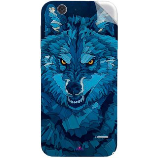 Snooky Printed southside festival wolf Pvc Vinyl Mobile Skin Sticker For LYF Water 2